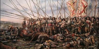 Los tercios en la batalla de Rocroi.