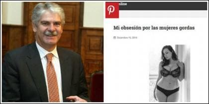 Alfonso Dastis y la web consular hackeada.