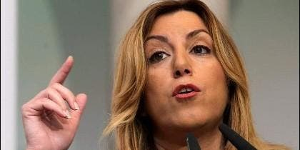 La presidente andaluza Susana Díaz (PSOE).