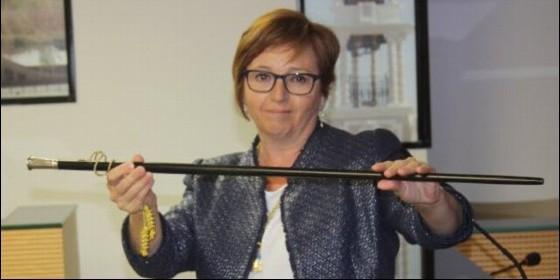 La alcaldesa de Compromís en Almassora, Susanna Nicolau.