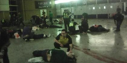 Muertos y heridos en el Manchester Arena tras el ataque terrorista.
