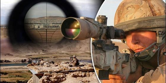 Duelo a muerte en Mosul entre francotiradores