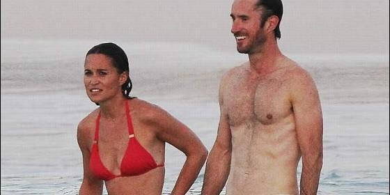 Pippa Middleton y James Matthews en su luna de miel