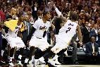 Irving y LeBron rozan las Finales tras remontar 16 puntos a Boston.