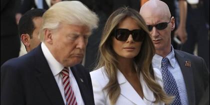 Melania tiene frito a Donald Trump.