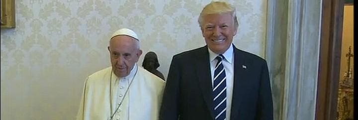 Francisco, con Donald Trump