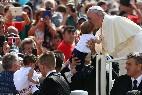 El Papa, este miércoles, en la Audiencia General