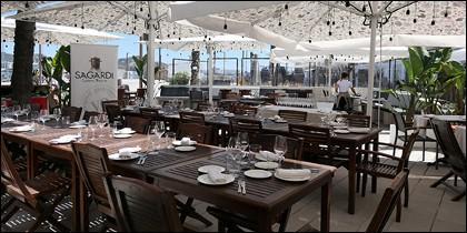 La terraza del nuevo SAGARDI en Ibiza.