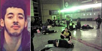 Salman Abedi, el terrorista islámico que perpetró el ataque suicida en el estadio Manchester Arena.