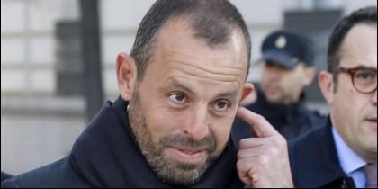Sandro Rosell, ex presidente del Barça.