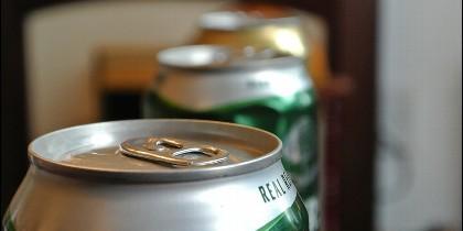 Lata cerveza