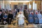 El Papa y las monjas de Don Orione