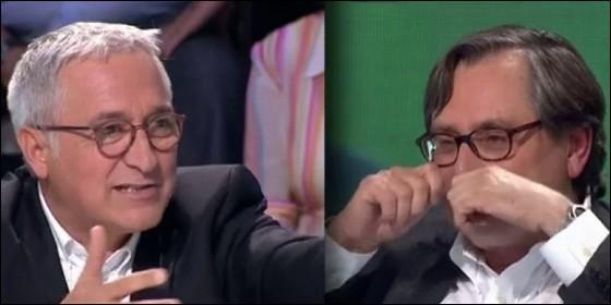 Xavier Sardá y Paco Marhuenda en 'La Sexta Noche'.