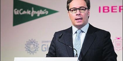 Dimas Gimeno Álvarez, director general de El Corte Inglés.