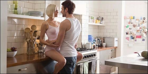 Sexo en la cocina.