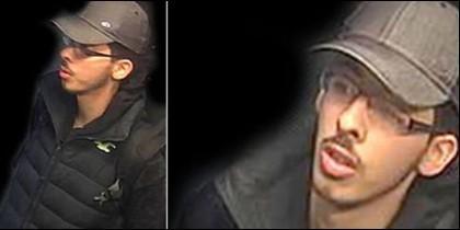El terrorista islámico de Manchester, Salman Abedi, justo antes de perpetrar la masacre.