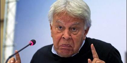 El ex presidente del Gobierno de España, Felipe González.