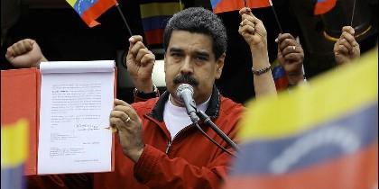 El chavista Nicolás Maduro.