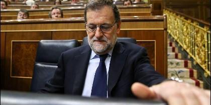 Mariano Rajoy (PP) en el Congreso de los Diputados.