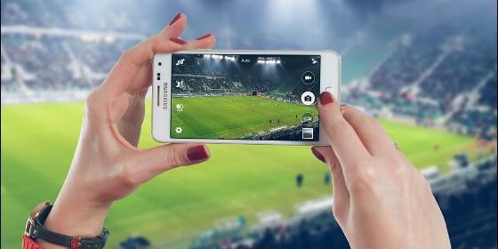 Teléfono, movil, internet, fútbol.