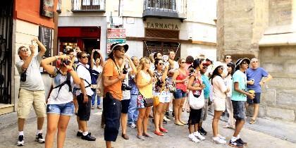 Turista, turismo y vacaciones.