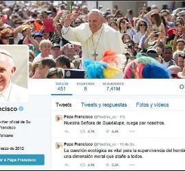 Twitter del Papa Francisco