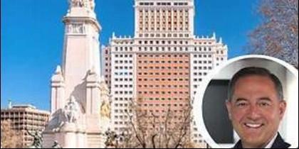 Trinitario Casanova y el Edificio España de Madrid.