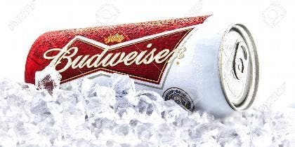 Lata de Budweiser