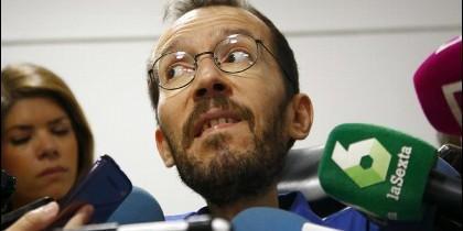 Eecretario de Organización de Podemos, Pablo Echenique.