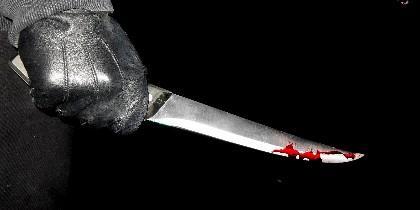 Cuchillo, crimen, asesino.