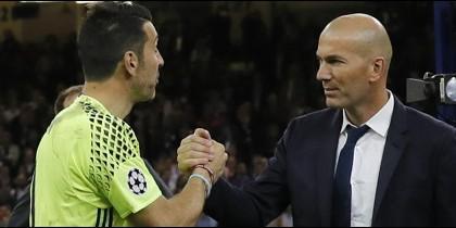 Esto le dijo Zidane a Buffon tras sacarle su deseada Champions League