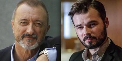 Arturo Pérez-Reverte y Gabriel Rufián.