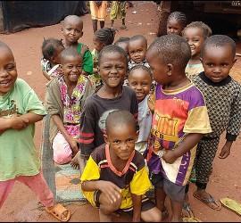 Niños de Bangassou