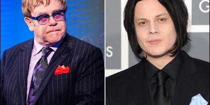 Elton John y Jack White
