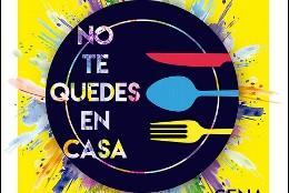 'No te quedes en casa', cena solidaria