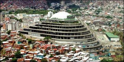 El Helicoide, sede del servicio secreto chavista.