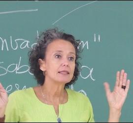 La antropóloga y miembro de la REPAM Moema Miranda