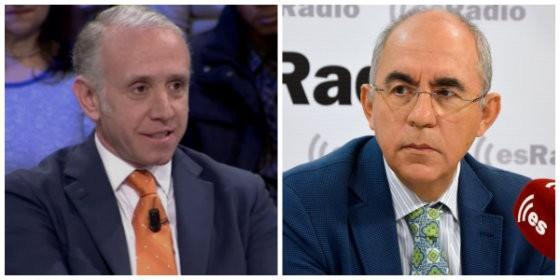 Eduardo Inda y Paco Rosell.