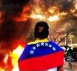 Un incendio en Venezuela