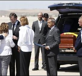 Rajoy, con la familia de Echeverría