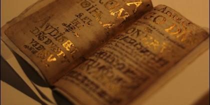 Luis de Carvajal usó pan de oro de Biblias para decorar su diario