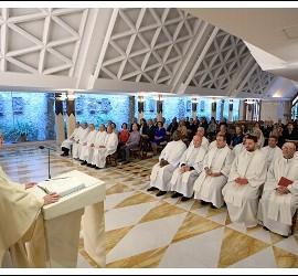Misa del Papa en Santa Marta