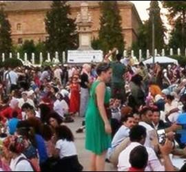 Celebración del fin del Ramadán el pasado sábado en Granada