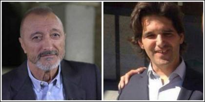 Arturo Pérez-Reverte e Ignacio Echeverría.