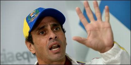 El opositor Henrique Capriles.