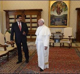 Audiencia del Papa con Nicolás Maduro