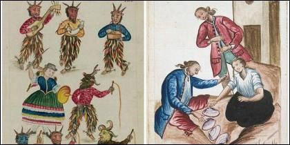 Láminas del Codex Trujillo.