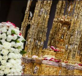 El arzobispo de Toledo, Braulio Rodríguez, en las celebraciones del Corpus Christi