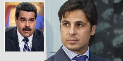 El dictador Nicolás Maduro y el torero Fran Rivera.