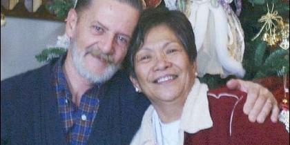 Lawrence John Ripple, y su querida mujer